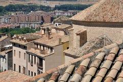 Gammala hus av Cuenca Arkivbild