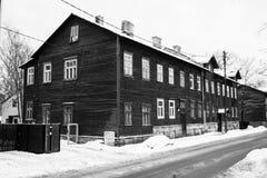 Gammala hus på stadsgatorna. Tallinn. Estland. Royaltyfria Foton