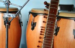 gammala instrument Royaltyfri Fotografi