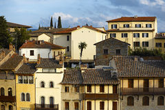 Gammala italienarehus Arkivbilder