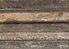 gammala järnvägties Arkivbilder