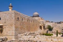 gammala jerusalem Arkivfoto