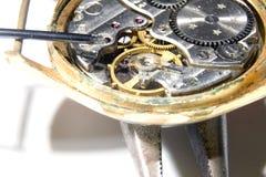 Gammala klockor Arkivbild