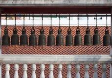 Gammala Klockor av tempelet royaltyfria bilder