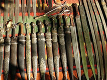 Gammala knivar Arkivbilder