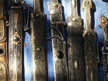 Gammala knivar Royaltyfri Bild
