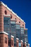 Gammala kontorsbyggnadar Arkivfoton
