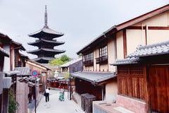 gammala kyoto Royaltyfri Fotografi
