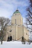 gammala kyrkliga helsinki Arkivfoto