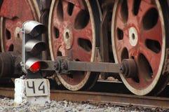 gammala lokomotiv Royaltyfri Bild