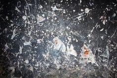 gammala målade skrapor texture väggen Royaltyfri Foto