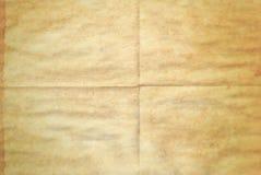 gammala paper fläckar Arkivfoto