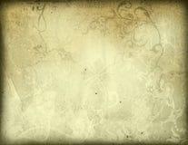 gammala paper texturer Arkivbild