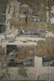 gammala papperen Arkivfoto