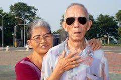 gammala par turnerar Arkivfoto