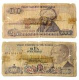 gammala pengar Arkivfoto