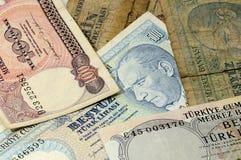 gammala pengar Arkivbilder