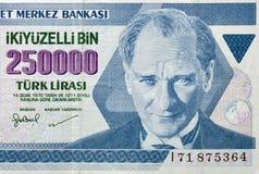 Gammala pengar av den Turkiet makroen Royaltyfria Foton