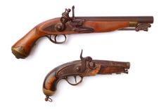 Gammala pistoler royaltyfria bilder