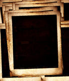 gammala polaroids Arkivfoto