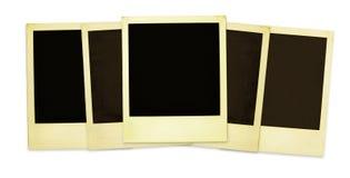 gammala polaroids xxlsize Arkivbilder