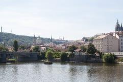 Gammala Prague Royaltyfria Bilder