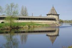 gammala pskov torn Arkivbilder