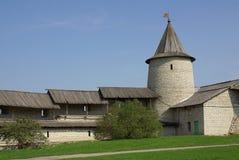 gammala pskov torn Fotografering för Bildbyråer