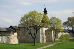 gammala pskov torn Arkivbild