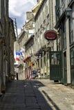 Gammala Quebec City Arkivbilder