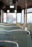 gammala rader som placerar spårvagnen Royaltyfria Bilder