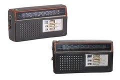 gammala radiosets Arkivfoton