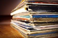 Gammala rekord Royaltyfria Bilder