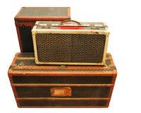 gammala resväskor Royaltyfri Foto