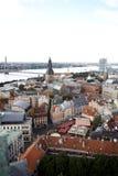 Gammala Riga Arkivfoto