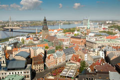 Gammala Riga royaltyfri bild