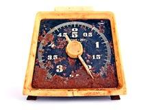 gammala rostiga scales Royaltyfri Fotografi
