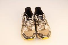 gammala running skor Arkivbild