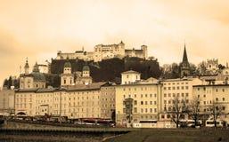 Gammala Salzburg Royaltyfri Fotografi
