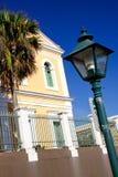 Gammala San Juan - historisk kolonial arkitektur Royaltyfri Bild