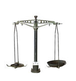 gammala scales Royaltyfri Fotografi