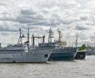 Gammala ships Royaltyfria Bilder
