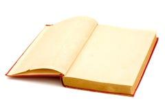 gammala sidor för blank bok Royaltyfri Bild