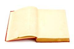 gammala sidor för blank bok Arkivbilder