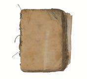 gammala sidor för blank bok Royaltyfria Bilder
