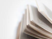gammala sidor för bok Arkivfoto
