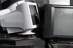 gammala skärmar Arkivfoton
