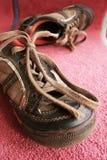 gammala skor Fotografering för Bildbyråer