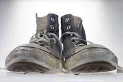 gammala skor Arkivbilder