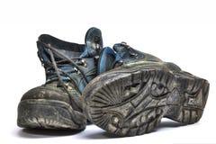 gammala skor Arkivfoto
